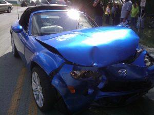 כלי רכב לאחר תאונה