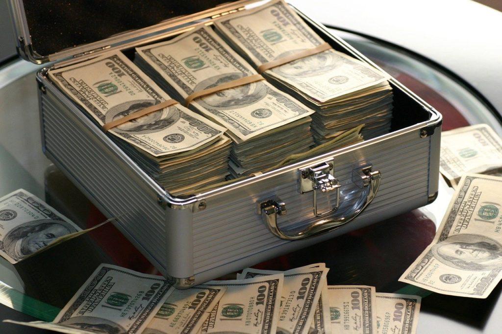 מזוודה של כסף